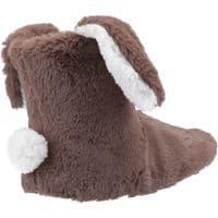 Divaz Flopsy Kids Childrens Slippers Taupe